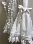 画像6: ケープ衿付きスタンドカラーブラウス(姫袖)【白】