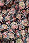 画像2: ハンドメイドギャザースカート【和柄・60c丈】 (2)