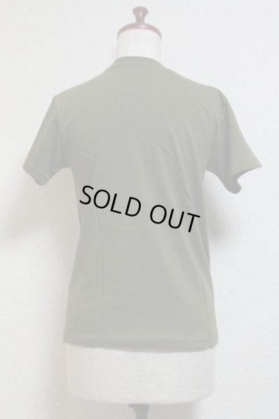 画像2: DiceCat Tシャツ【シティグリーン×シルバーラメプリント/XSサイズ】