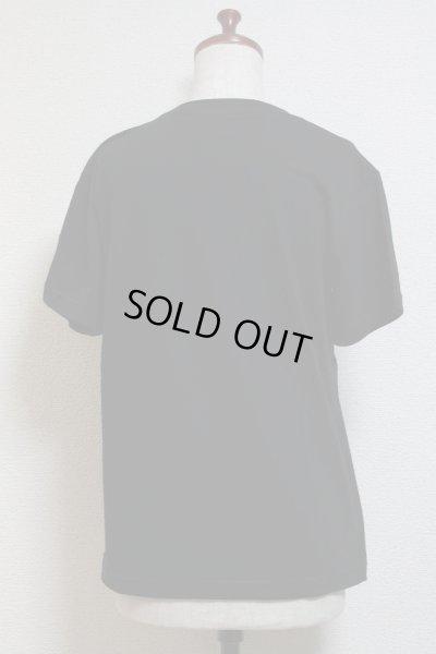 画像2: DiceCat Tシャツ【黒×シルバーラメプリント/Sサイズ】