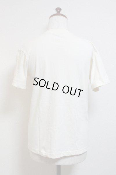 画像2: エンブレム半袖Tシャツ/Sサイズ【オフ白×ゴールドプリント】
