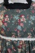 画像2: デイリージャンパースカート【花柄】 (2)