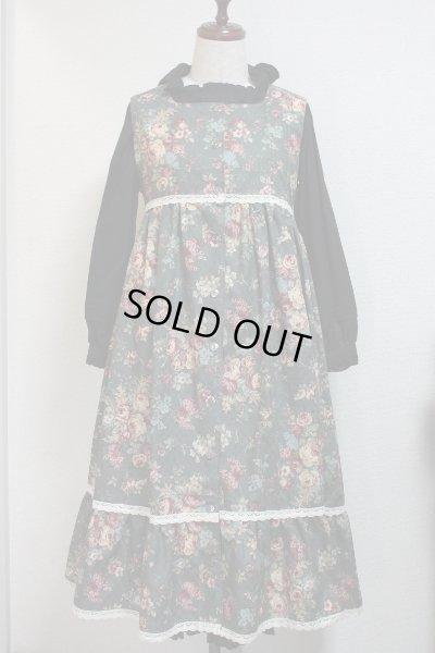 画像1: デイリージャンパースカート【花柄】