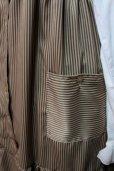 画像3: デイリージャンパースカート【カフェオレブラウン系・ストライプ柄】 (3)