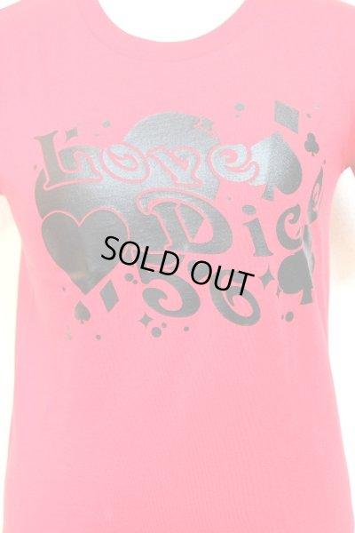 画像3: 【Sale】LoveDiceTシャツ【赤・ガールズSサイズ】