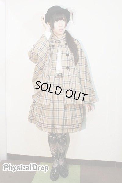 画像4: 【Sale50%オフ】ポケット付SK【ベージュチェック】