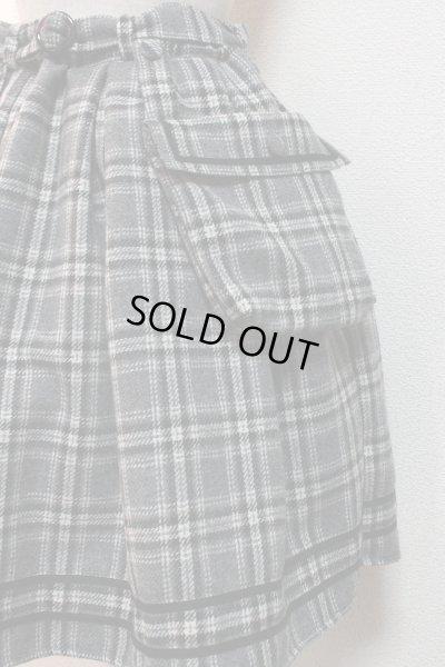 画像2: 【Sale 50% OFF】ポケット付SK【グレーチェック】