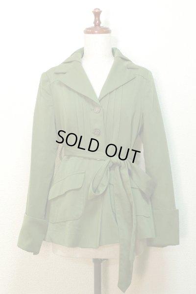 画像1: 【Sale 50% OFF】スプリングジャケット【グリーン】