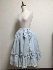 他の写真1: 【Sale50%OFF】シフォンリボンスカート【キャラメルチェック】