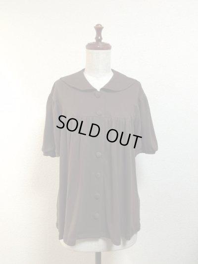 画像1: 【Sale50%OFF】半袖セーラーカットソー【茶色】