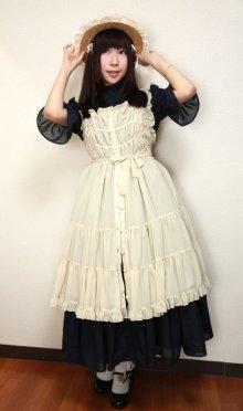 他の写真1: エプロンドレス風ジャンパースカート【生成】