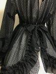 画像5: レースオーバードレス【黒】