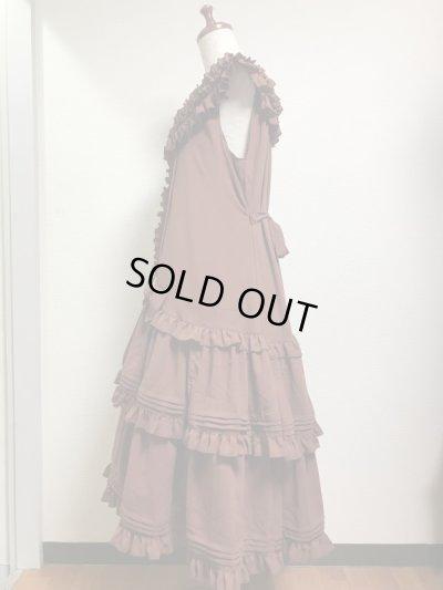 画像2: 【Sale30%OFF】ノスタルジックドレス【茶】