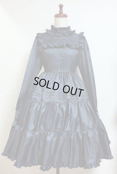 画像1: 小公女ドレス【紺千鳥】