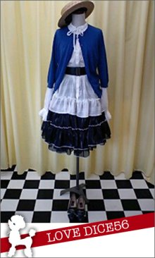 他の写真3: サーキュラースカート用のパニエ【紺×黒】